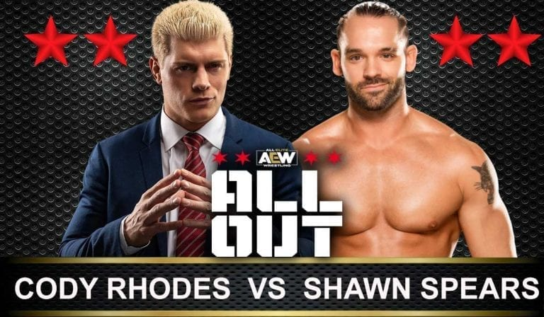 Cody Rhodes vs Shawn Spears AEW All Out 2019