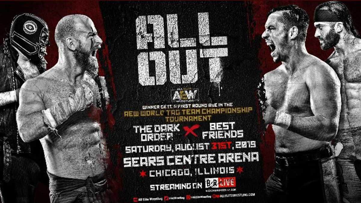 Dark Order vs Best Friends at All Out 2019