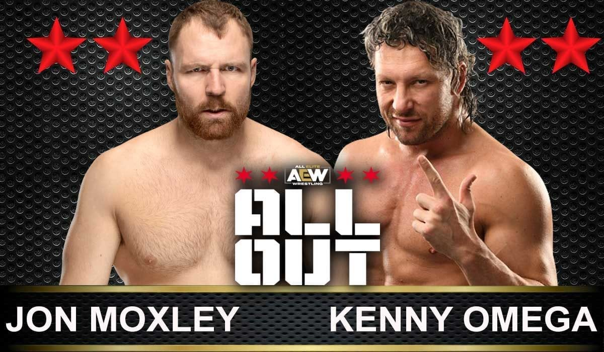 Jon Moxley vs Kenny Omega AEW All Out