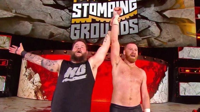 Kevin Owens and Sami Zayn Defeated New Day at Stomping Grounds