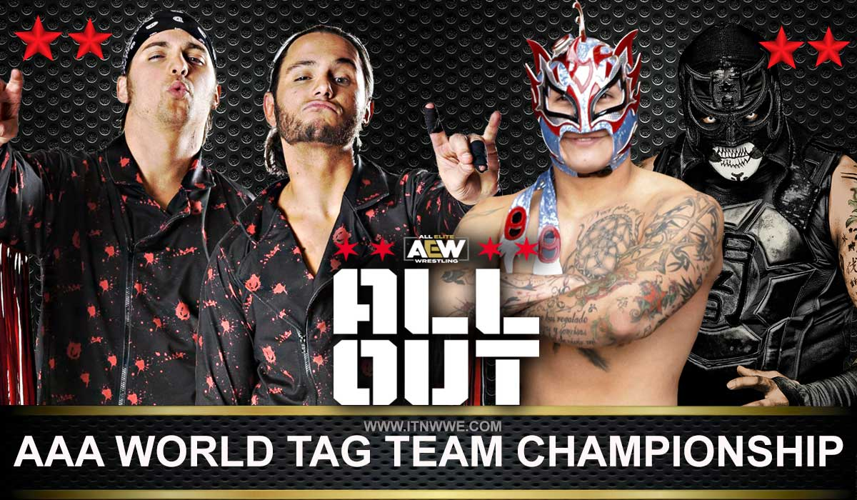 Lucha Bros vs The Young Bucks  Ladder of the Death Match - AAA Tag Team Championship All Out 2019