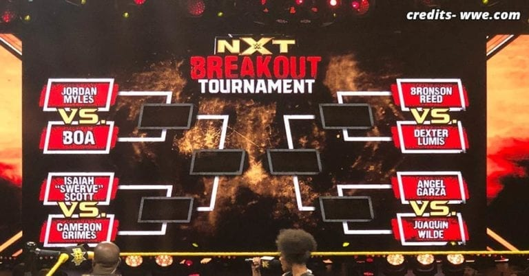 NXT Breakout Tournament Announced for New Talent