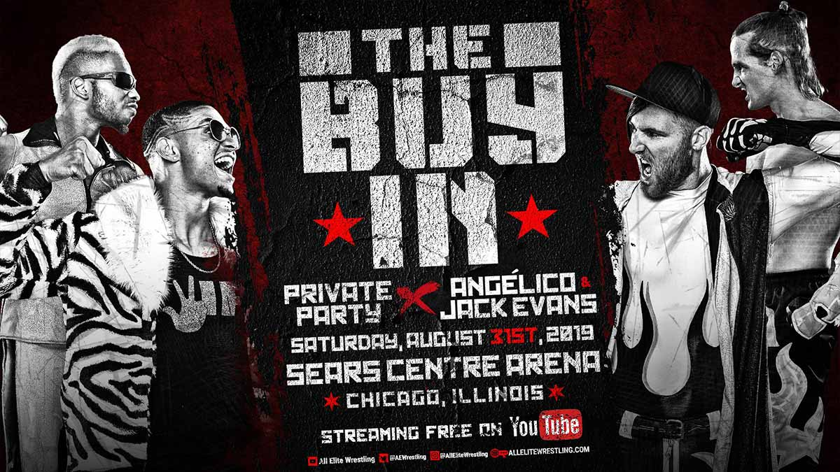 Private Party vs Angelico & Jack Evans All Out 2019
