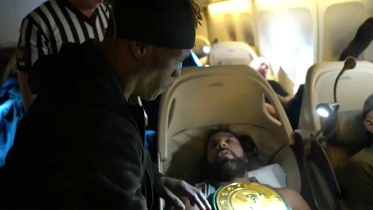 R-Truth Wins 24/7 Championship in Plane