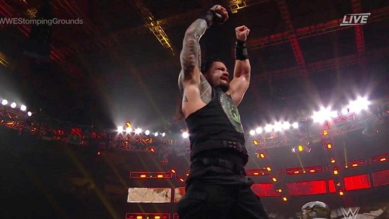 Roman Reigns Defeated Drew McIntyre at Stomping Grounds