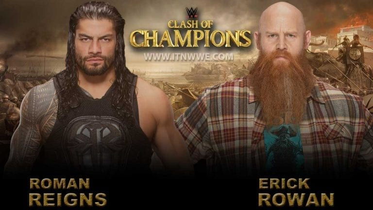 Roman Reigns vs Rowan Match Changed to No Disqualification