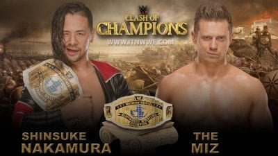 Shinsuke Nakamura vs The Miz Intercontinental Championship WWE Clash Of Champions 2019