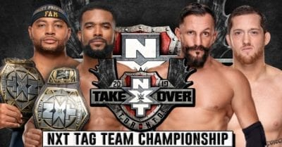 Street Profits(c) vs Fish & O'Reilly from Undisputed ERA NXT Takeover Toronto 2019