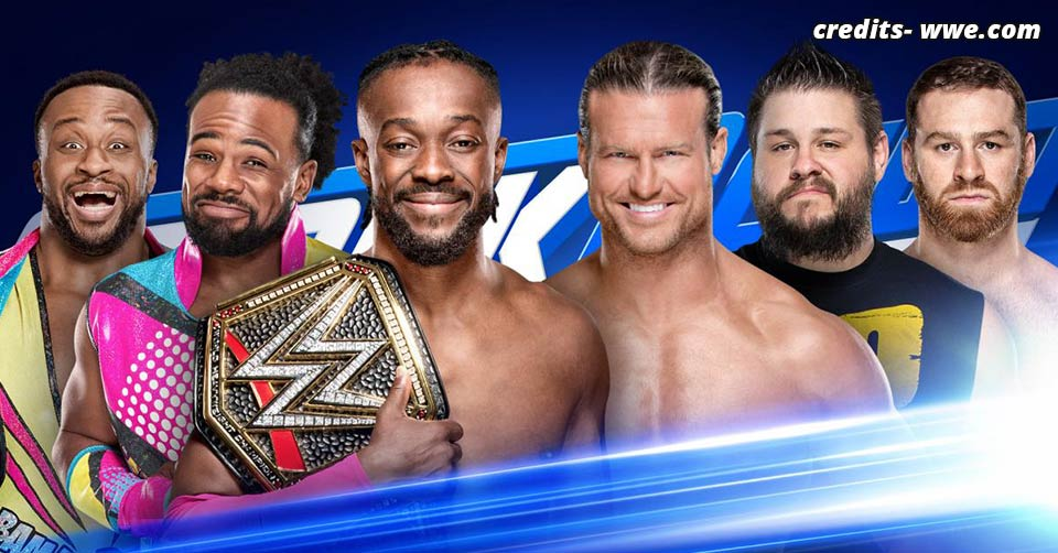Tag Team Match SmackDown 11 June 2019