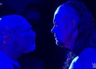 Undertaker Goldberg Face Off SmackDown 4 June 2019