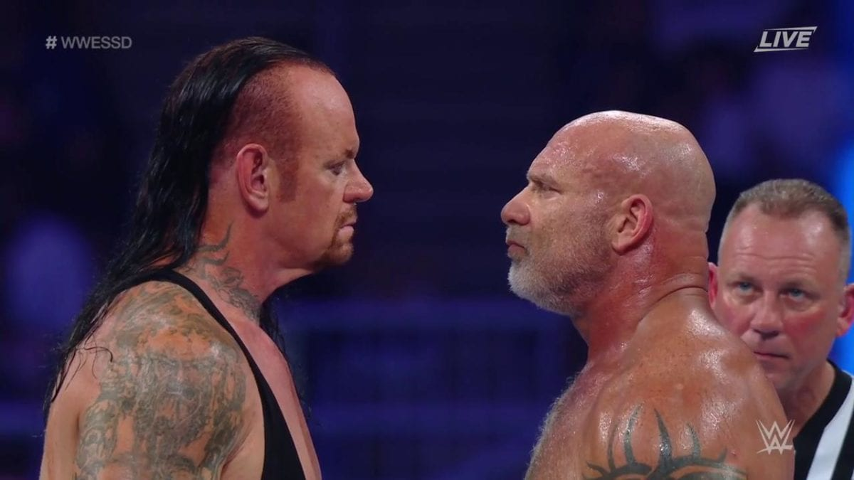 Undertaker vs Goldberg Super ShowDown 2019