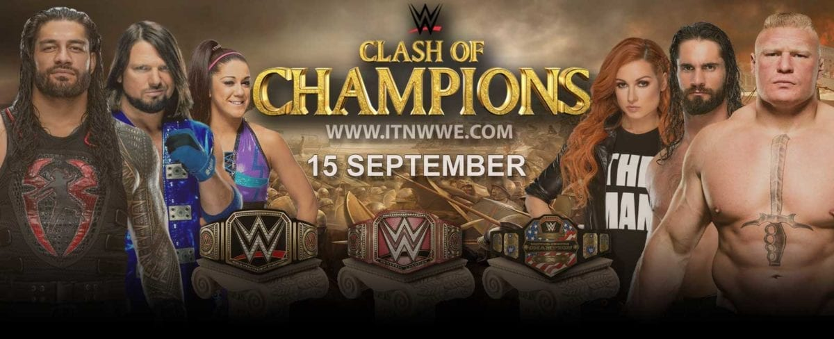 WWE Clash of Champion 2019 poster