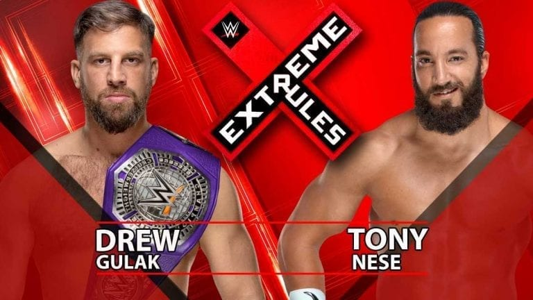 Tony Nese Gets Cruiserweight Title Match At Extreme Rules