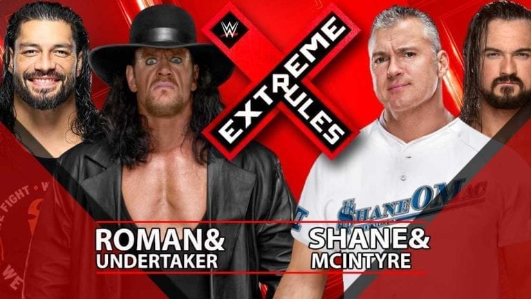 Undertaker Set for Match at Extreme Rules 2019 After RAW Appearance