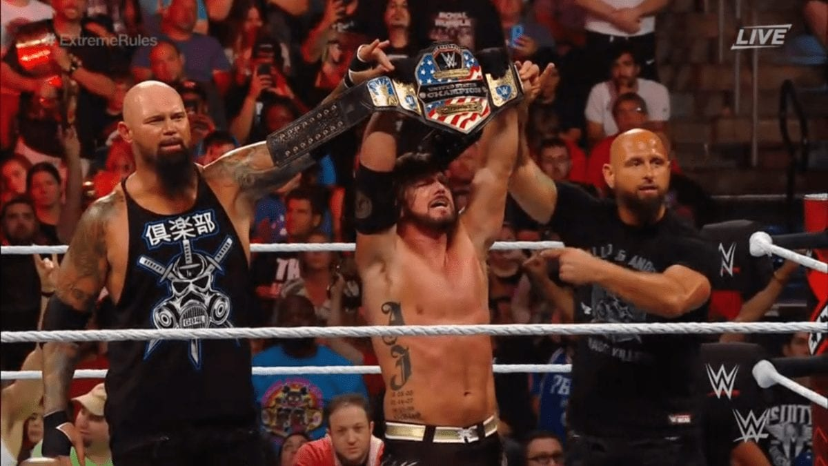 AJ Styles Extreme Rules 2019