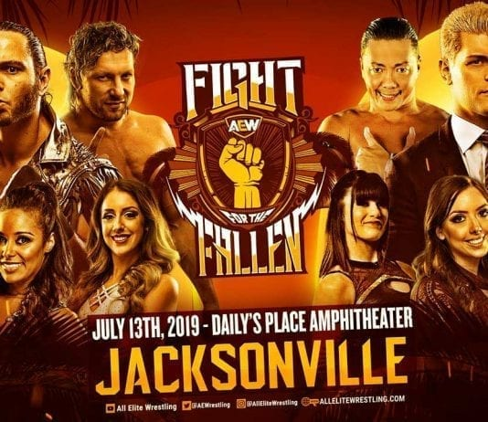AEW Fight for the Fallen 2019 Live Results