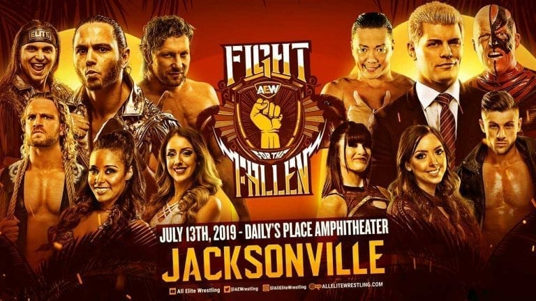 AEW Fight for the Fallen 2019 Live Results & Updates