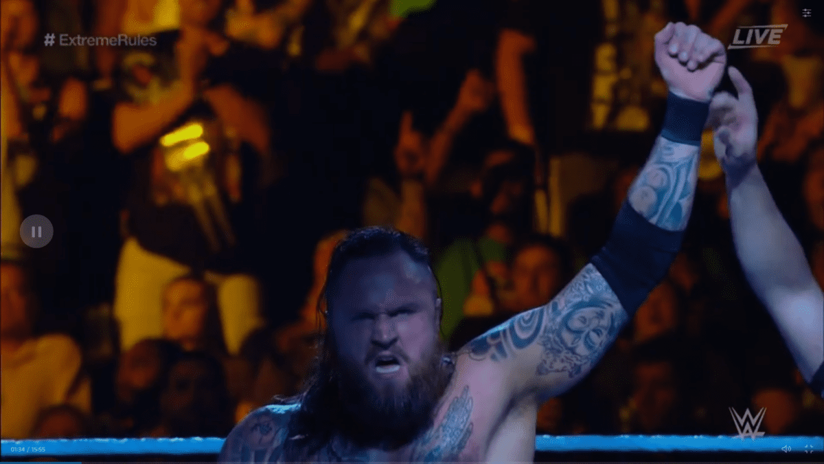 Aleister Black Extreme Rules 2019