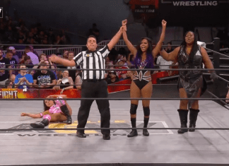 Brandi Rhodes & Awesome Kong Fight For The Fallen 2019