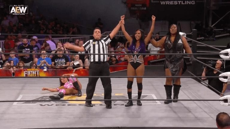 Fight for the Fallen 2019: Awesome Kong Helps Brandi Defeat Allie