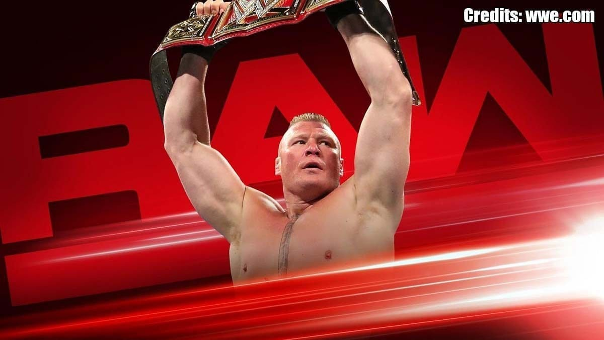Brock Lesnar RAW 15 July 2019