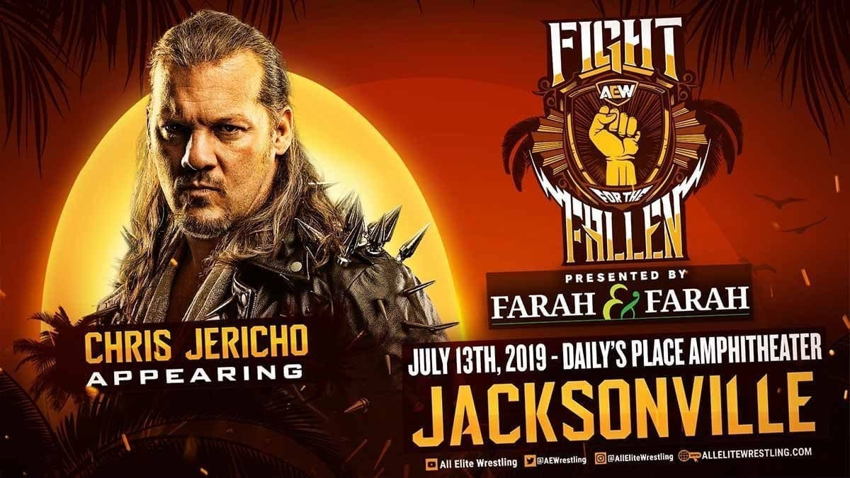 Chris Jericho Fight for the Fallen 2019