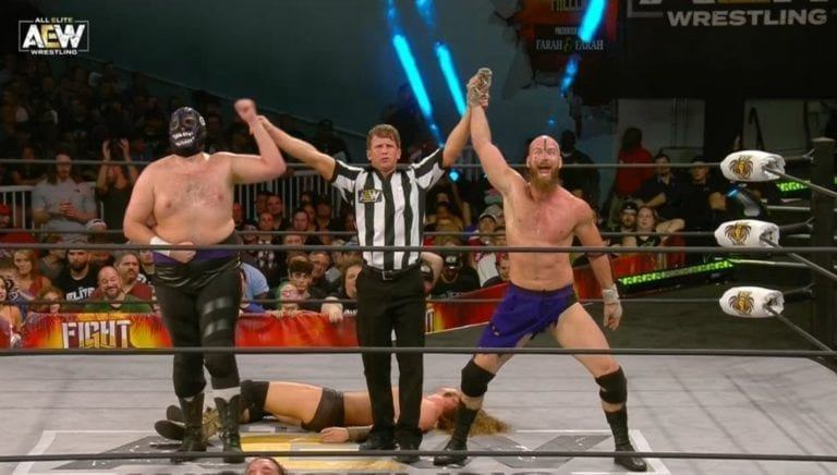 Dark Order Wins in AEW Debut, Advances to All Out