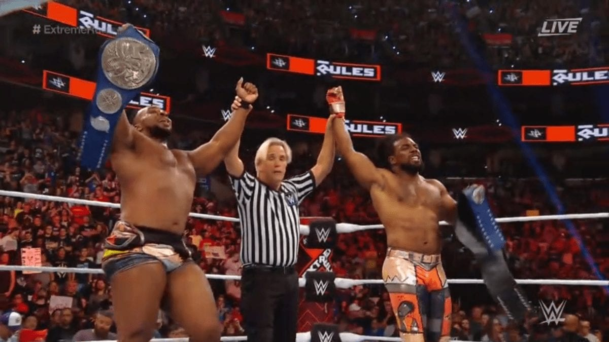 New Day SmackDown Tag Team Champion Extreme Rules 2019