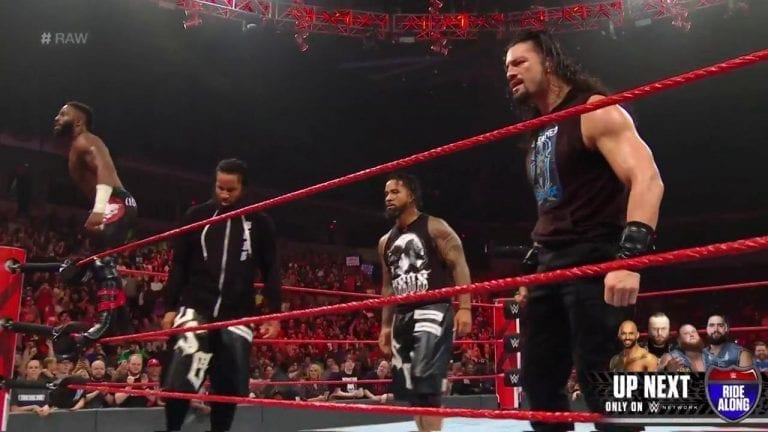 RAW Ended with an All Out 8 Men Brawl