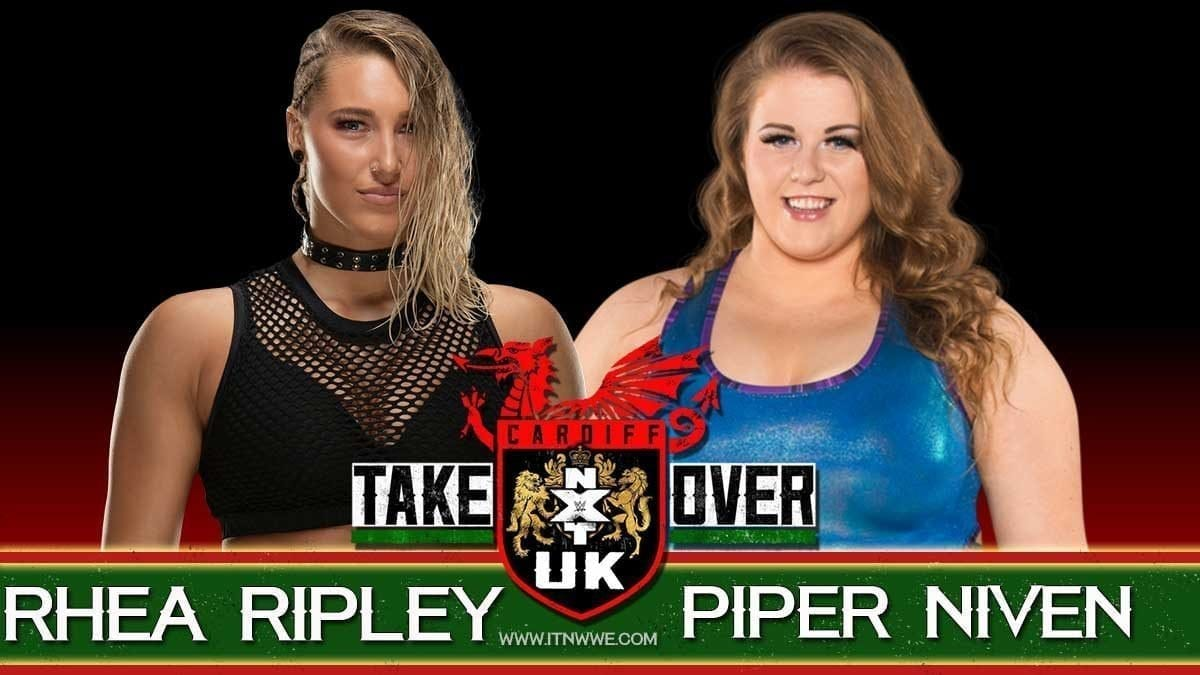 Rhea Ripley vs Piper Niven NXT UK Takeover cardiff 2019