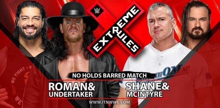 Stipulation Added to Undertaker Extreme Rules 2019 Match
