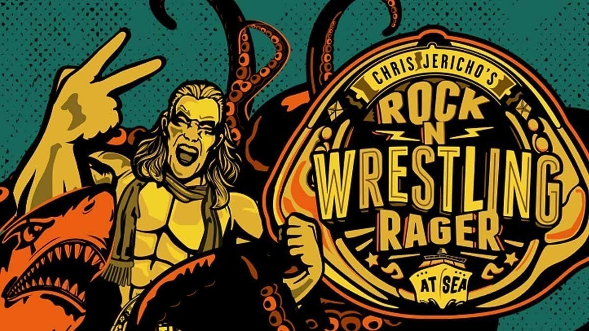 Chris Jericho Rock 'n' Wrestling Rager at Sea Cruise Poster
