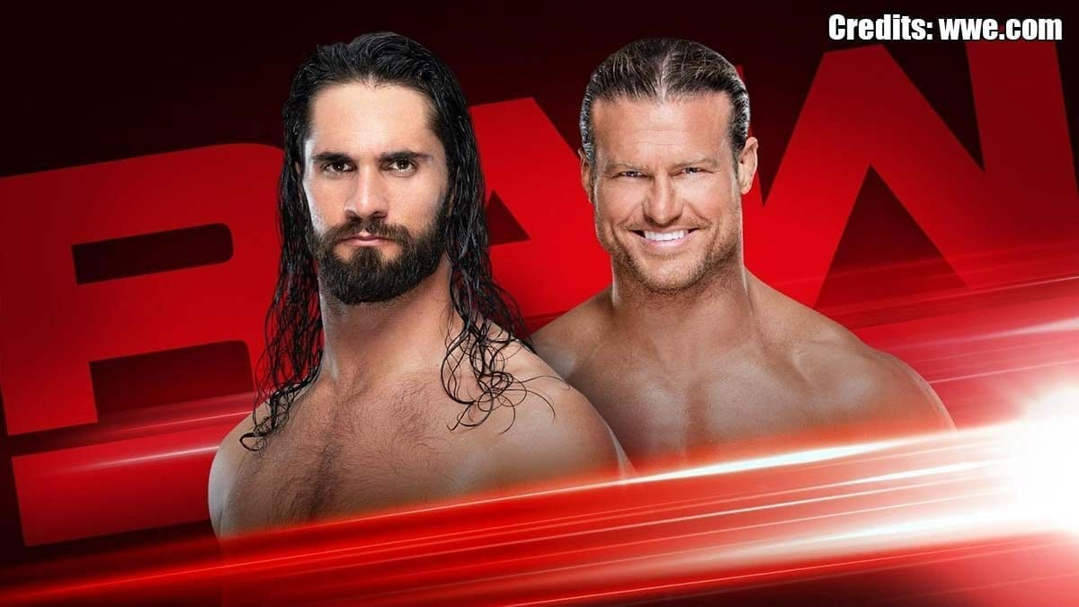 Seth Rollins vs Dolph Ziggler RAW 29 July 2019