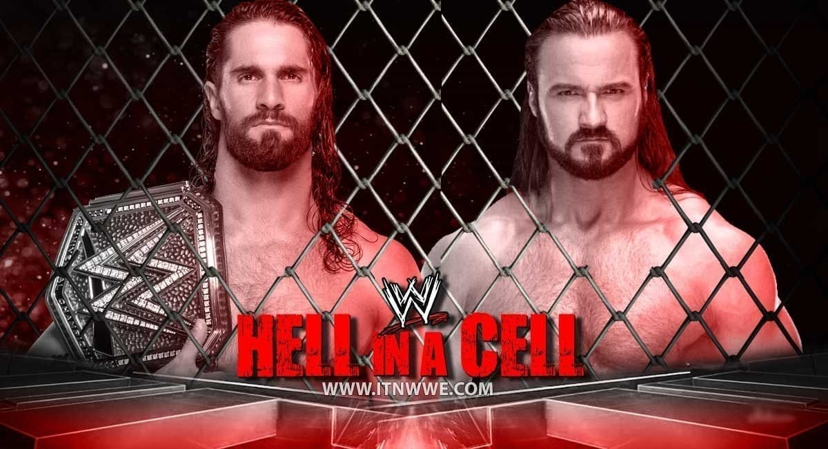 Seth Rollins vs Drew McIntyre Hell In a Cell 2019