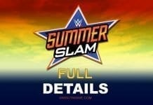 Summerslam 2019 Full Details