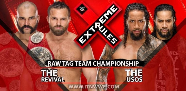 The Revival vs The Usos Announced for Extreme Rules 2019