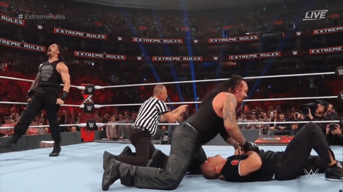 The Undertaker & Roman Reigns Extreme Rules 2019