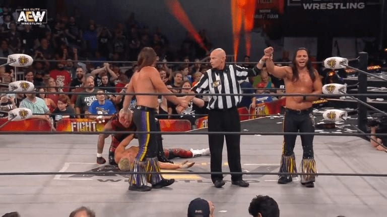The Young Bucks Fight For The Fallen 2019