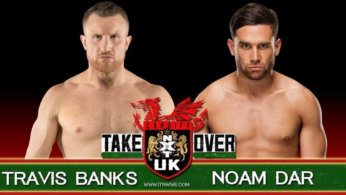 Travis Banks vs Noam Dar NXT UK takeover cardiff 2019