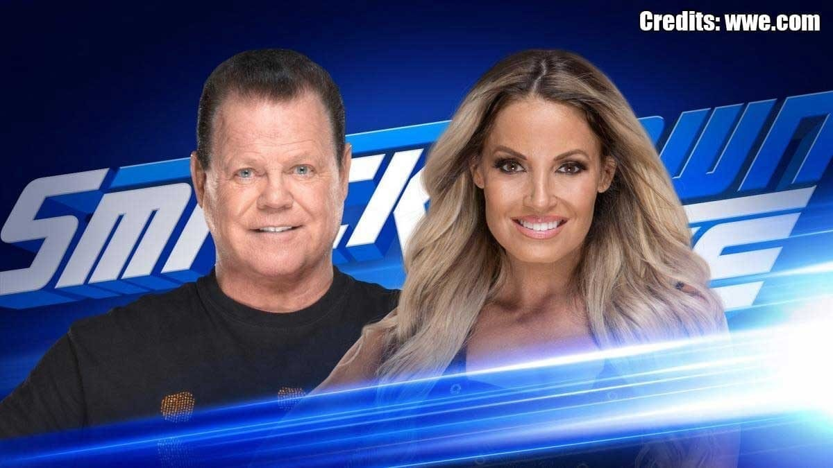 Trish Stratus Jerry Lawler's King's Court SmackDown 30 July 2019