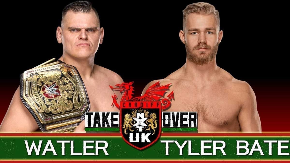 Walter vs Tyler Bate WWE United Kingdom Championship NXT UK Takeover cardiff 2019