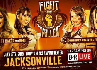 Riho & Britt Baker vs Bea Priestley & Shoko Nakajima Fight for the Fallen 2019