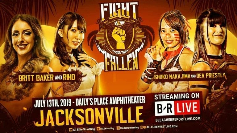 Women's Tag Team Match Announced for Fight for the Fallen