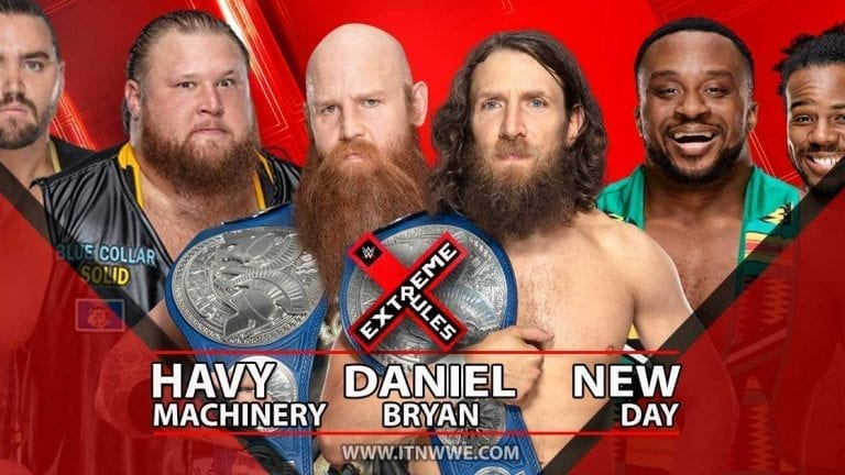 SmackDown Tag Team Title Match Added to Extreme Rules 2019