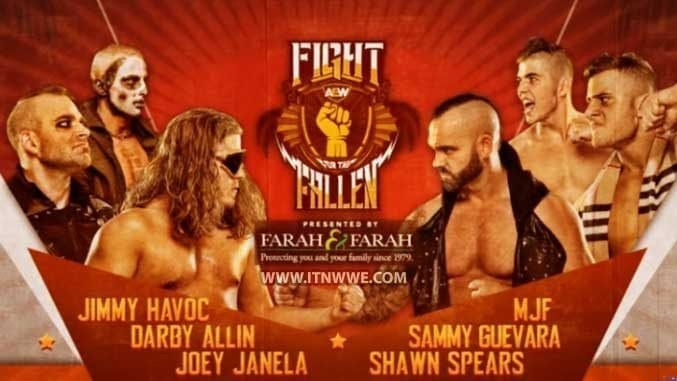 Six-Man Tag Team Match Announced for Fight of the Fallen