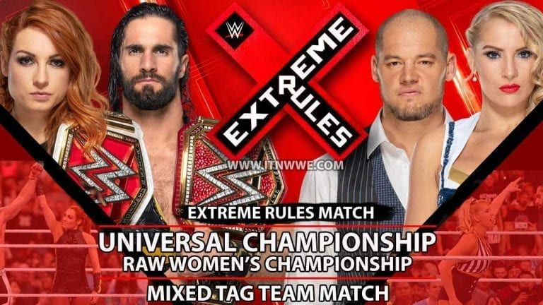 Stipulation Added to Extreme Rules Double Title Match