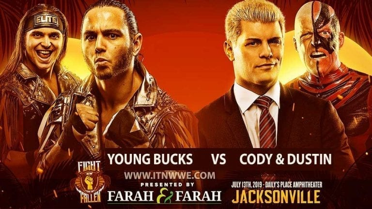 Cody & Dustin Rhodes to Face Young Bucks at Fight For the Fallen