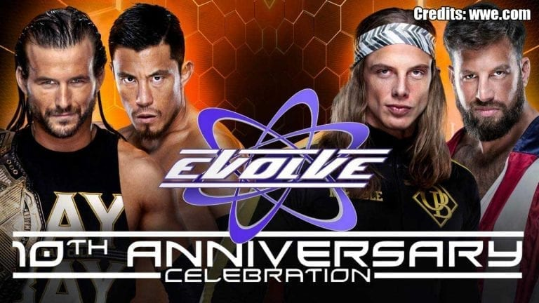 WWE Network to Stream Evolve 131 10th Anniversary Event