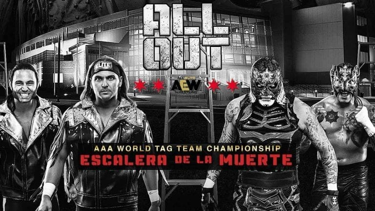 Lucha Bros vs Young Bucks AAA Tag Team Championship All Out 2019
