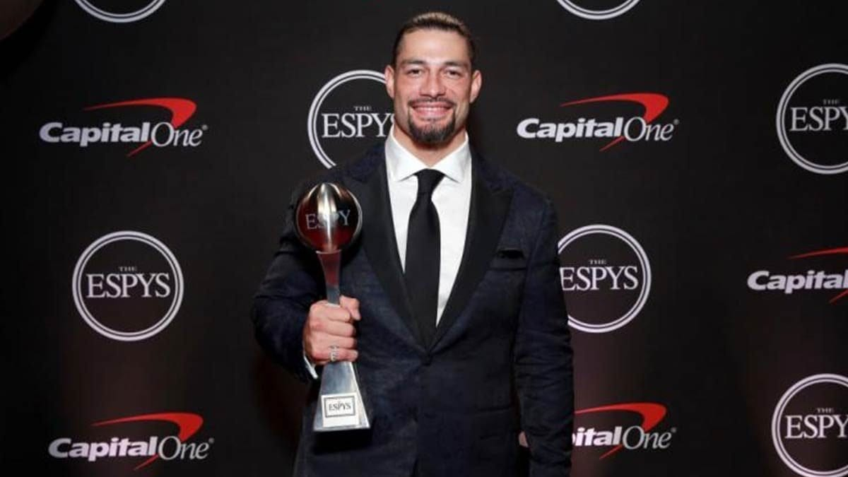 Roman Reigns Best Moment Award ESPYS 2019